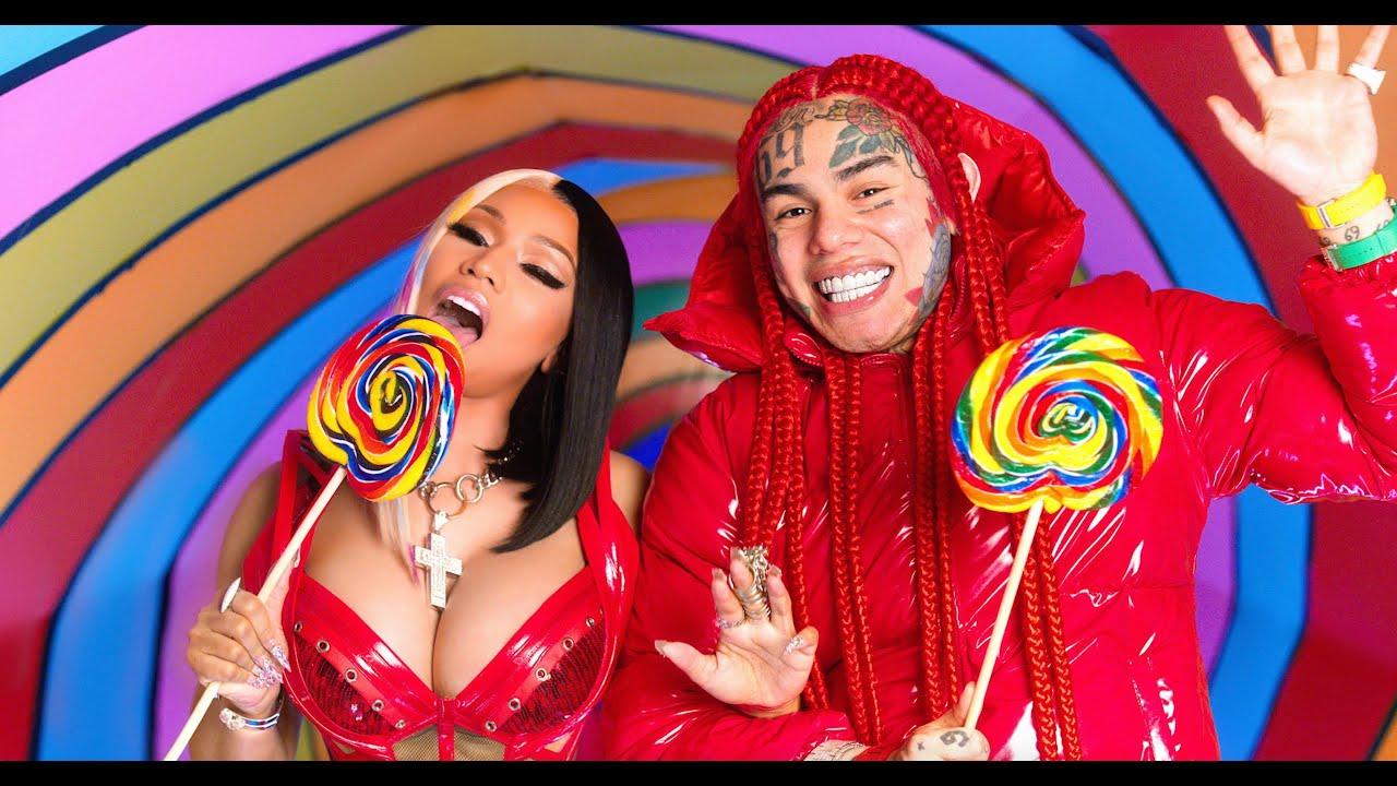 6ix9ineとNicki Minajの新曲「TROLLZ」のミュージック・ビデオが公開