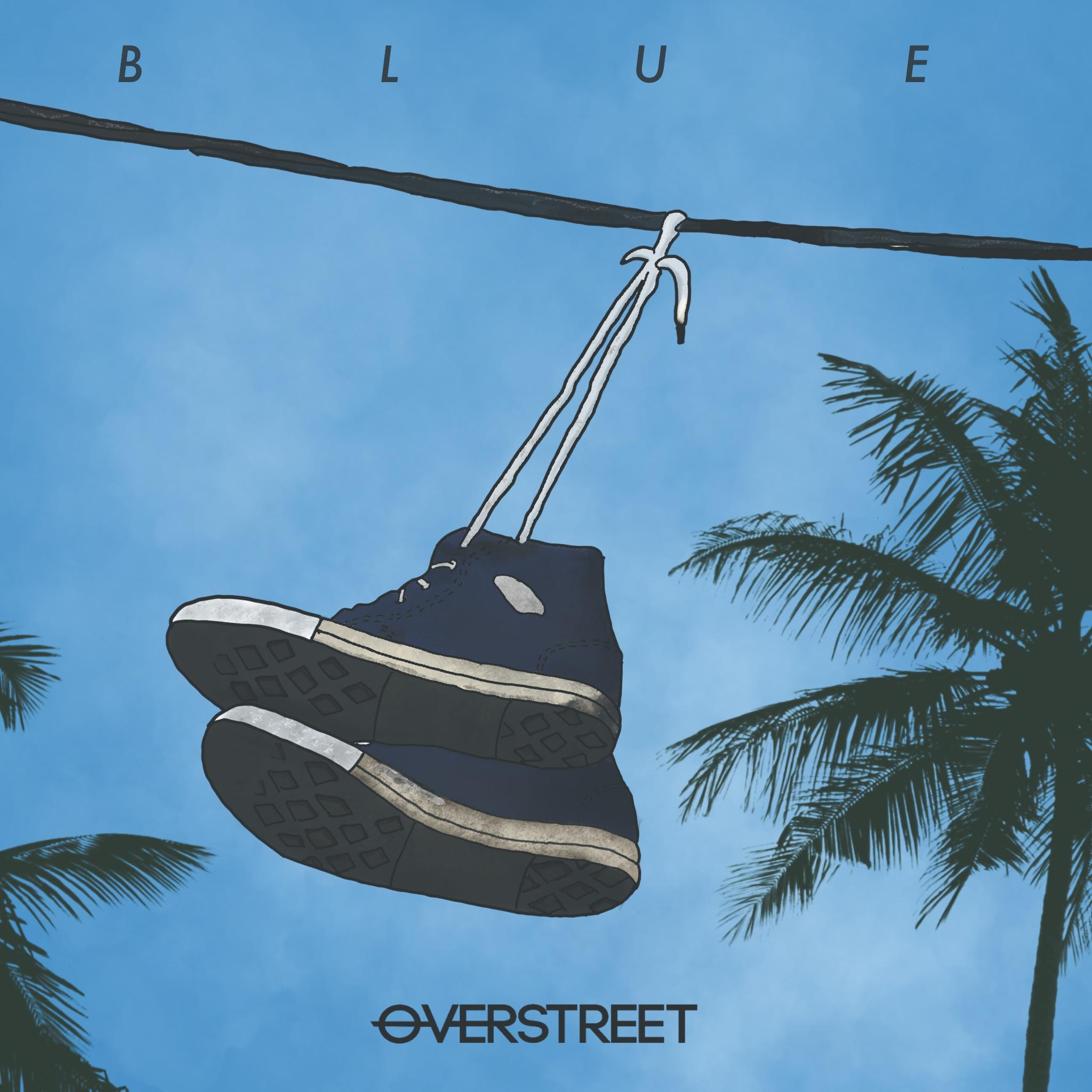 Chord Overstreet率いるバンド「OVERSTREET」が新曲「Blue」を世界に先駆けて日本で先行配信