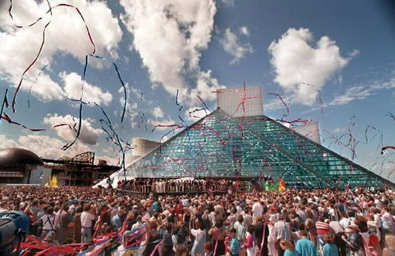 Rock and Roll Hall of Fame and Museum timeline: 1995-2010
