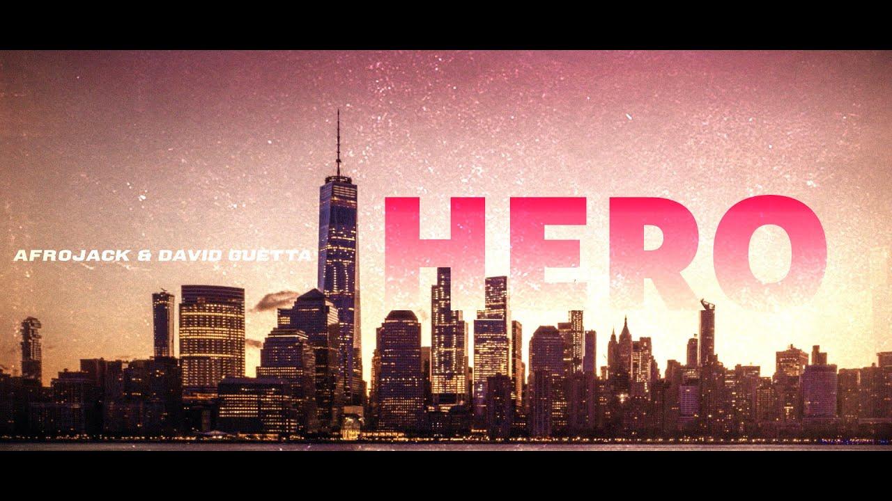 AfrojackがDavid Guettaとの新曲「Hero」のリリック・ビデオを公開