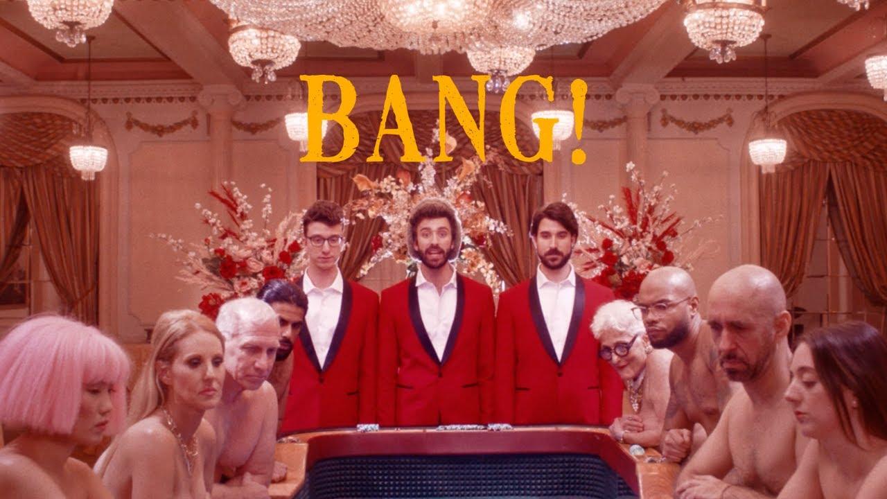 AJR「BANG!」の洋楽歌詞カタカナ・YouTube動画・解説まとめ