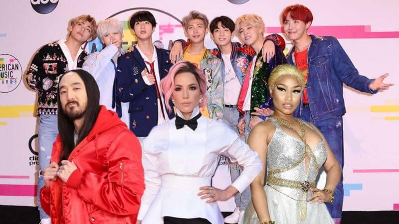 【超絶人気】「BTS」がこれまでにコラボした洋楽アーティストたち8選