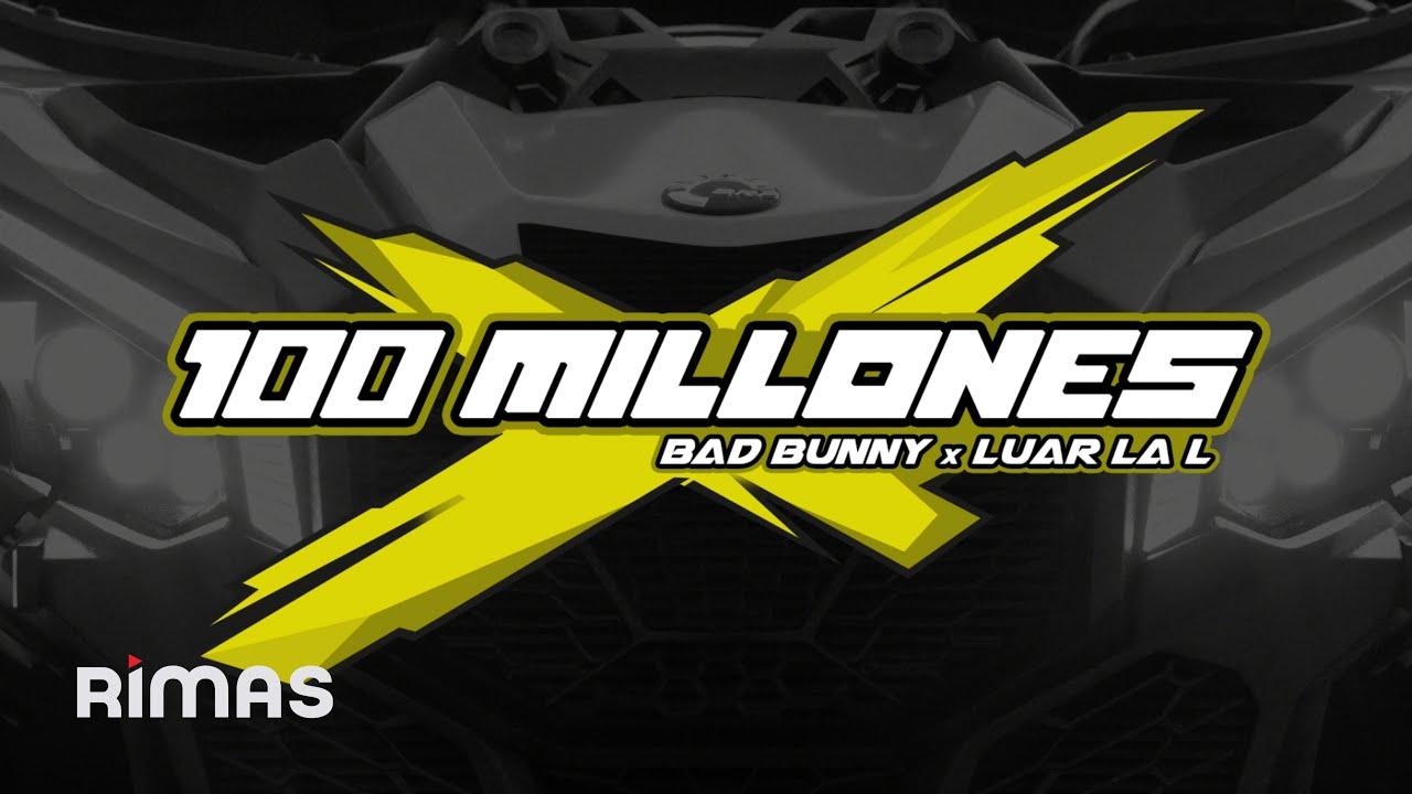 Bad BunnyがLuar La Lとの新曲「100 Millones」のビジュアル動画を公開