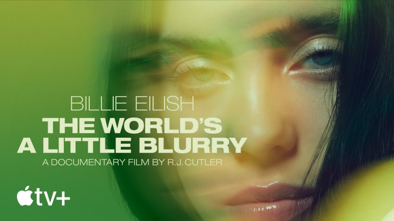 Billie EilishがApple TV+「The World's A Little Blurry」の予告動画を公開