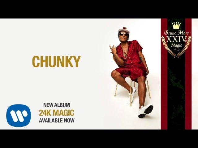 Bruno Mars「Chunky」の洋楽歌詞カタカナ・YouTube動画・解説まとめ