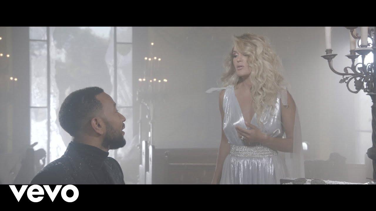 Carrie UnderwoodがJohn Legendとのデュエット曲「Hallelujah」のミュージック・ビデオを公開
