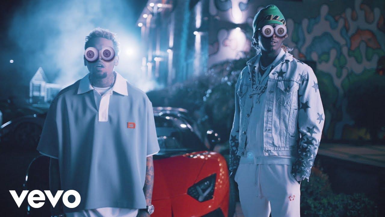 Chris BrownとYoung Thugの新曲「Go Crazy」のミュージック・ビデオが公開