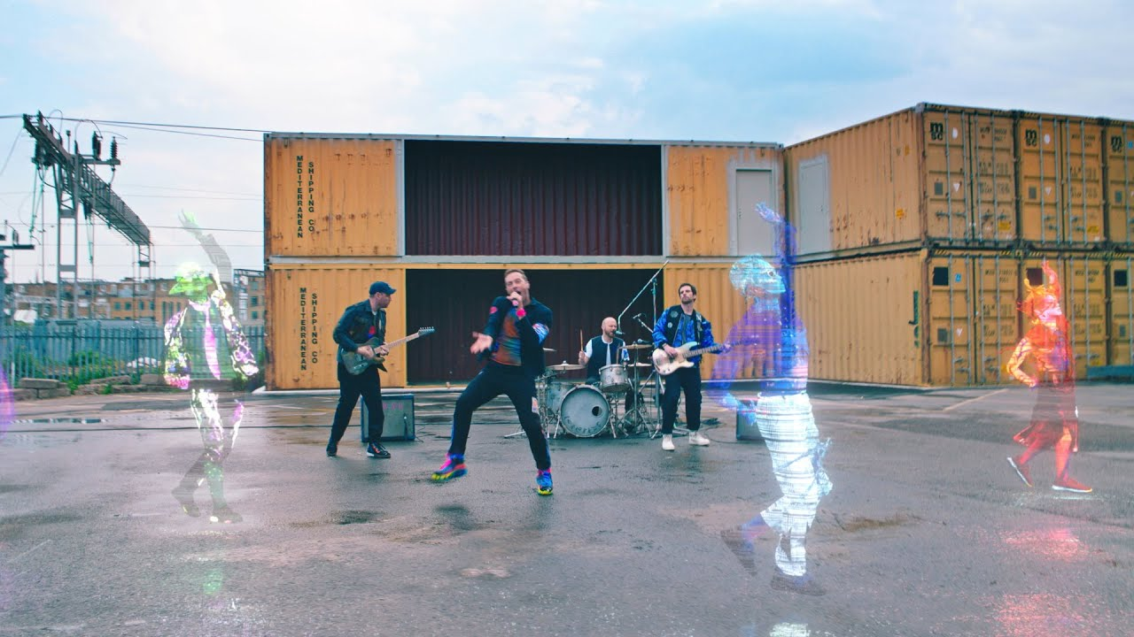 Coldplayが新曲「Higher Power」のExtraterrestrial Transmissionと題した音源動画を公開