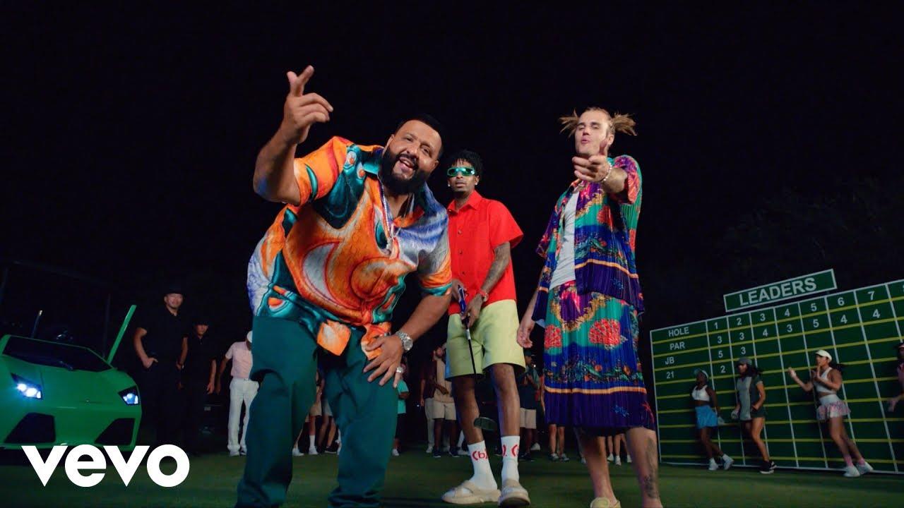 DJ KhaledがJustin Bieber、21 Savageを迎えた「Let it Go」のミュージック・ビデオを公開