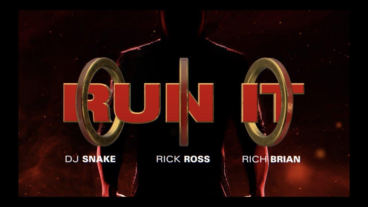 DJ SnakeがRick Ross、Rich Brianを迎え映画「シャン・チー/テン・リングスの伝説」に提供した「Run It」の音源を公開