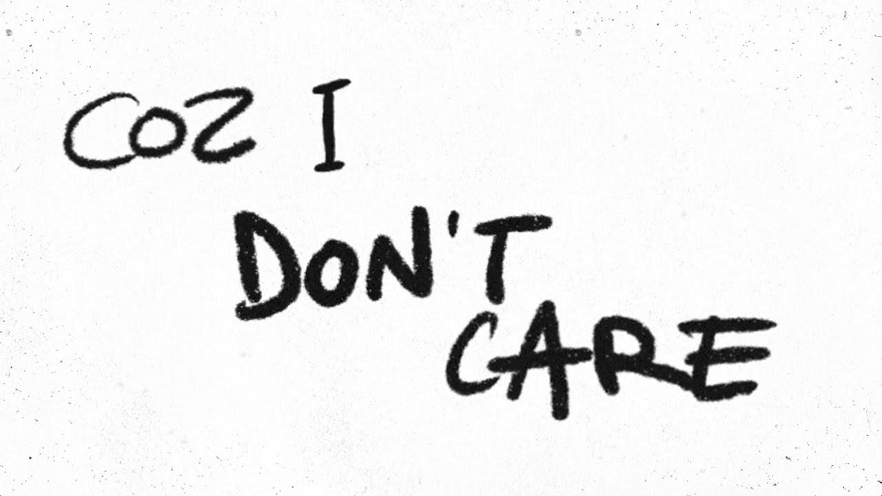 Ed SheeranとJustin Bieberの新曲「I Don't Care」の音源とリリック・ビデオが公開