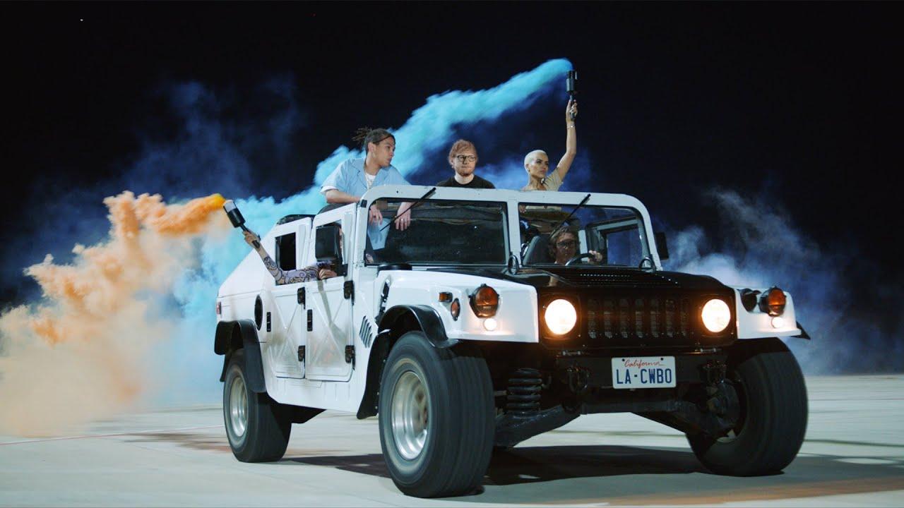 Ed SheeranがKhalidをゲストに迎えた新曲「Beautiful People」のミュージック・ビデオを公開