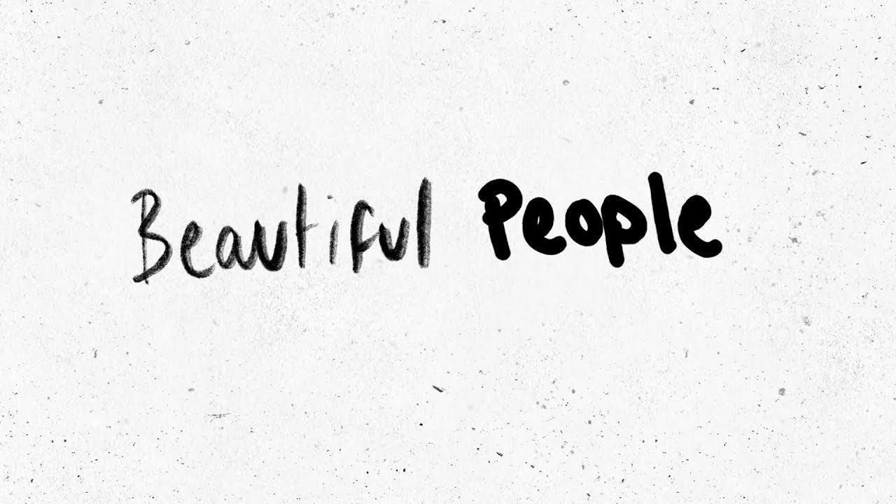 Ed SheeranがKhalidをゲストに迎えた新曲「Beautiful People」のリリック・ビデオを公開