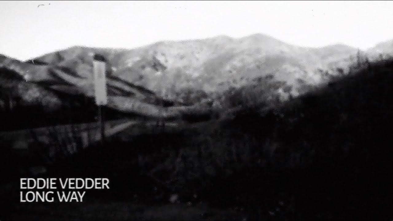 Eddie Vedderがソロ新曲「Long Way」のリリック・ビデオを公開、ニュー・アルバムもリリース予定