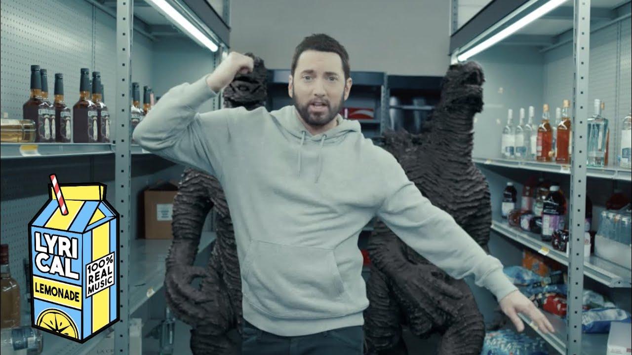 Eminemが「Godzilla ft. Juice WRLD」のミュージック・ビデオを公開