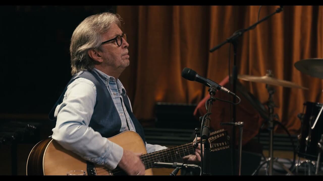 Eric Claptonが11月12日発売『The Lady In The Balcony: Lockdown Sessions』より「Golden Ring」のパフォーマンス・ビデオを公開