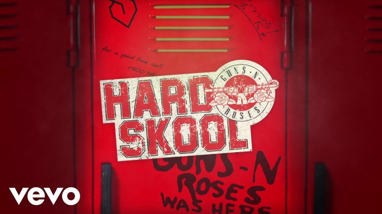 Guns N' Rosesが今年2枚目となる待望の新曲「Hard Skool」をリリースし音源を公開