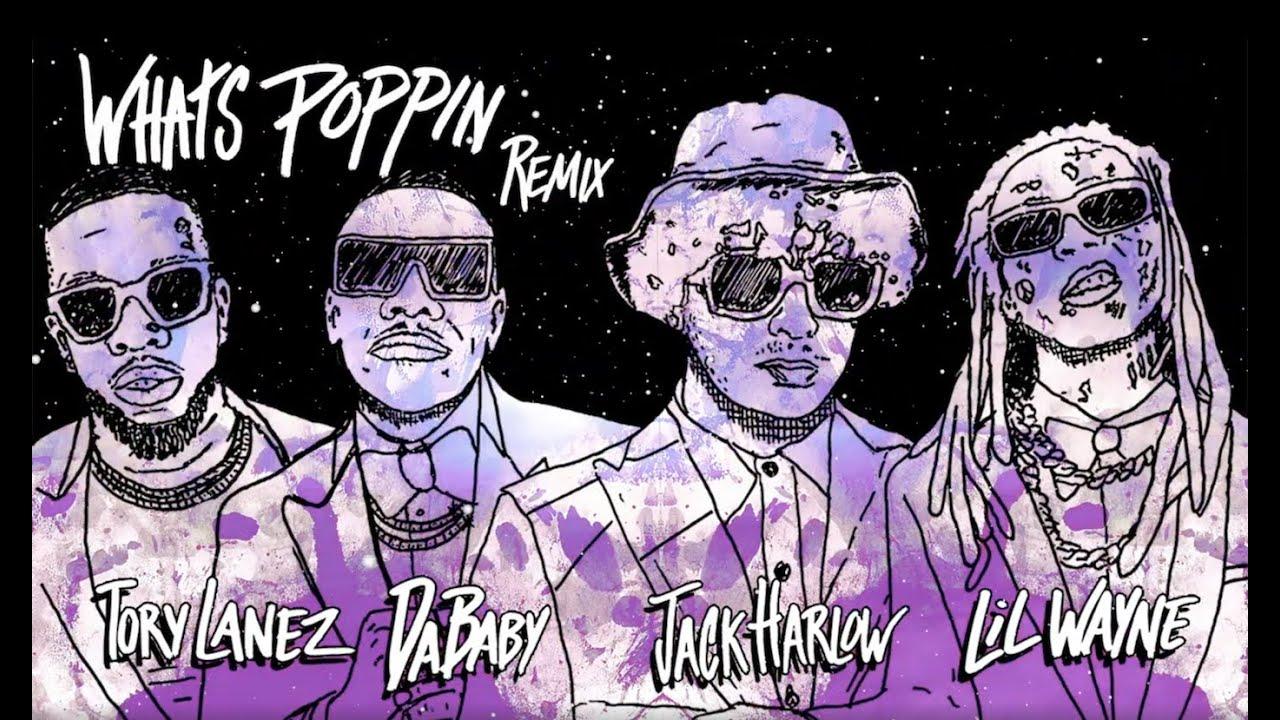 Jack Harlowのヒット曲「WHATS POPPIN」にDaBaby、Tory Lanez、Lil Wayneが参加したリミックス音源のビジュアル映像が公開