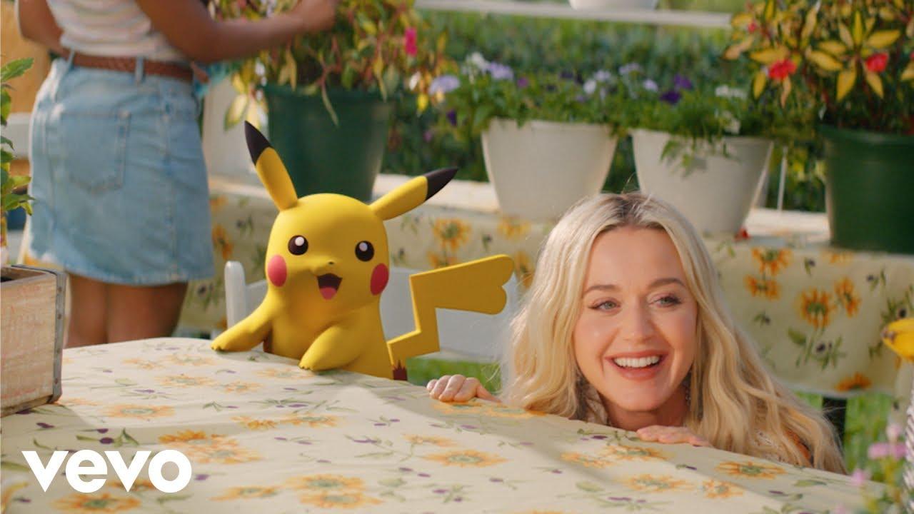 Katy Perryが「ポケモン25周年」を記念した新曲「Electric」のミュージック・ビデオを公開