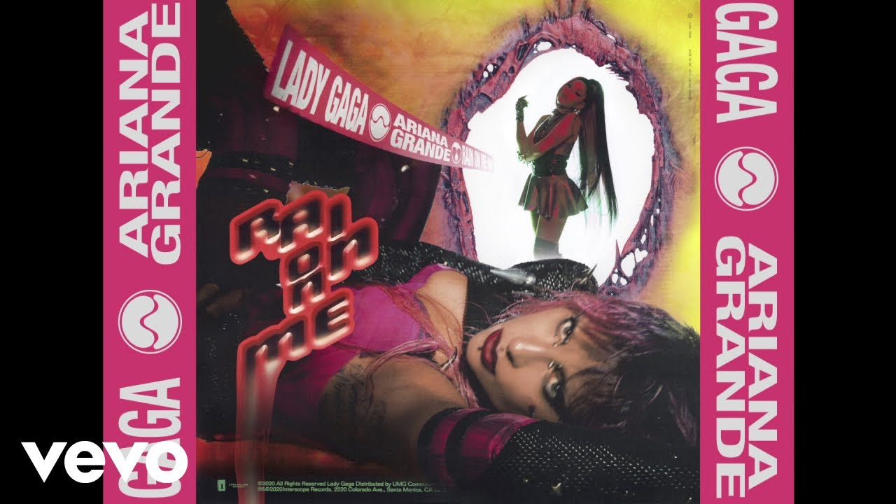 Lady GagaとAriana Grandeのコラボ曲「Rain On Me」の音源が公開