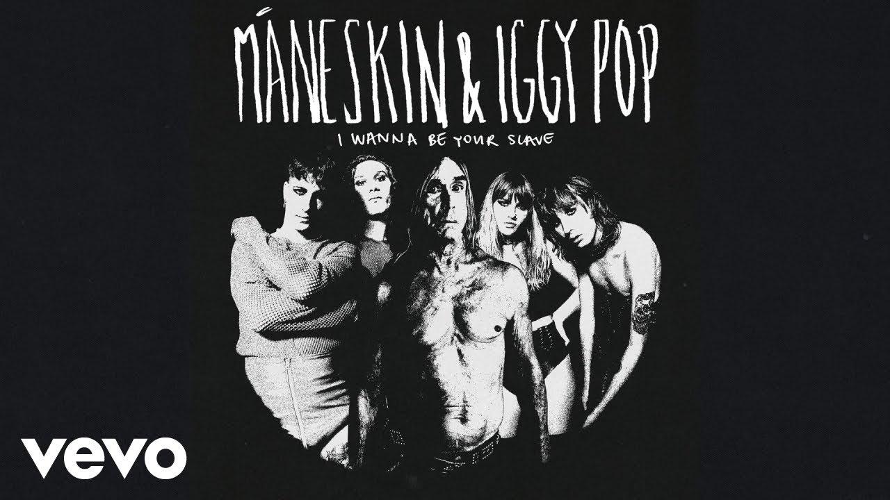 Måneskinがヒット中シングル「I Wanna Be Your Slave」にIggy Popを迎えたバージョンをリリースし音源を公開