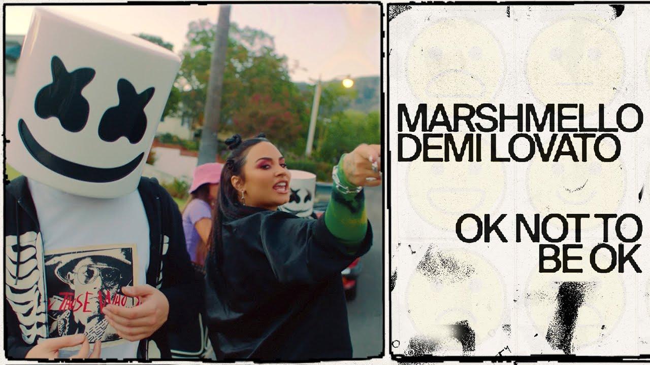 MarshmelloとDemi Lovatoの新曲「OK Not To Be OK」のミュージック・ビデオを公開