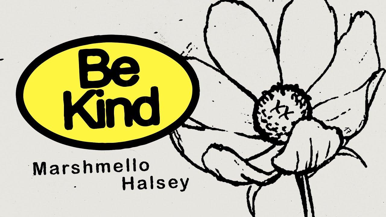 MarshmelloとHalseyによるコラボ曲「Be Kind」のリリック・ビデオが公開