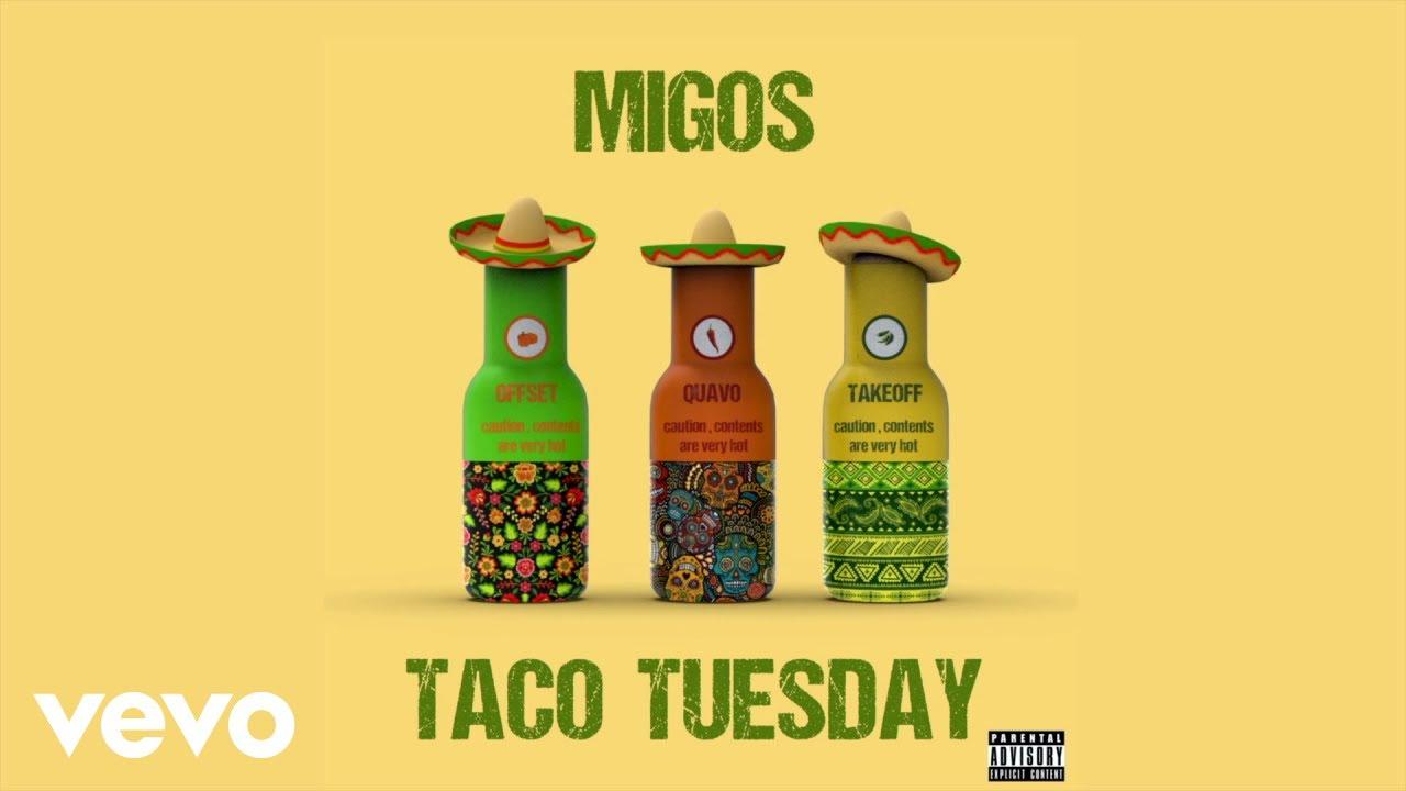 Migosが新曲「Taco Tuesday」のリリック・ビデオを公開