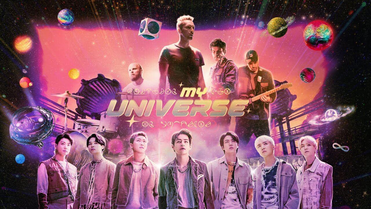 Coldplay&BTSによる新曲「My Universe」ビルボードホット100で初登場1位を獲得