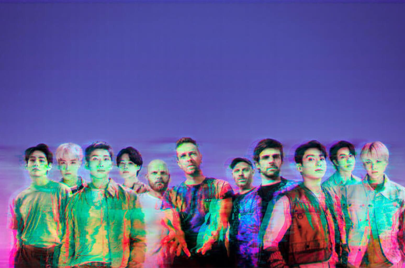 Coldplay&BTSが最強のコラボレーション!シングル「My Universe」が9月24日リリース!