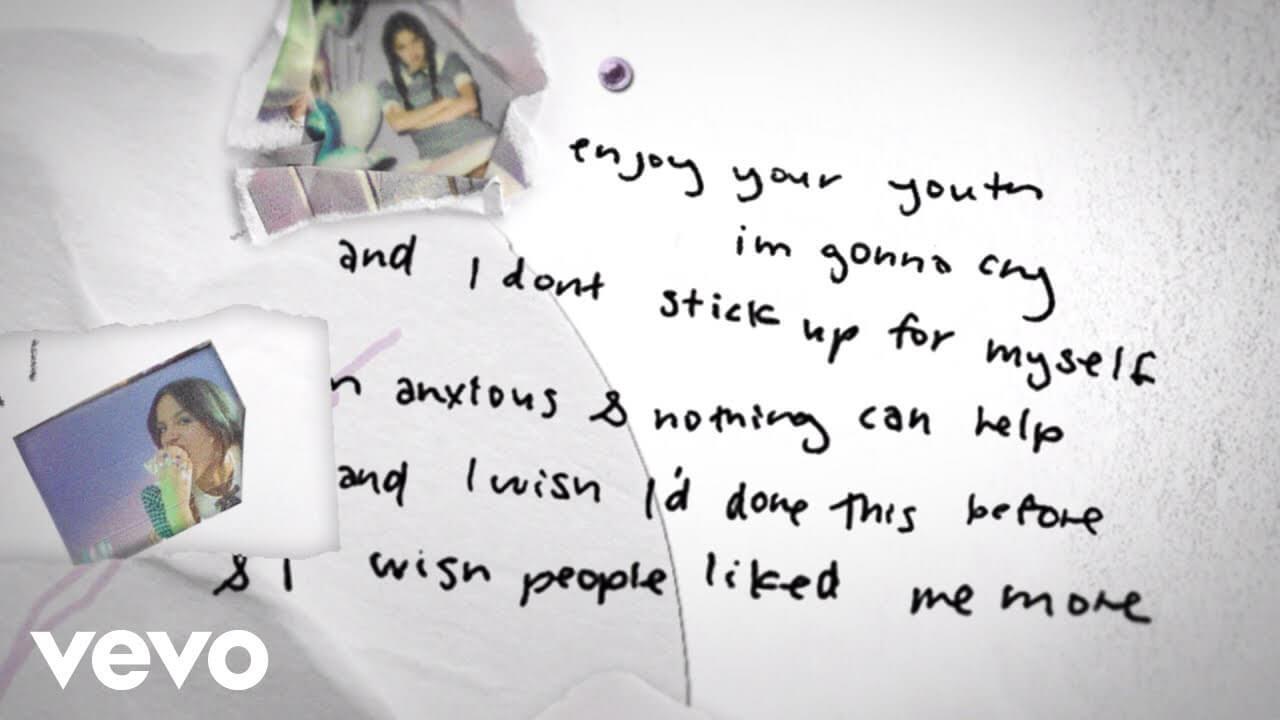 Olivia Rodrigo「brutal」の洋楽歌詞カタカナ・YouTube動画・解説まとめ