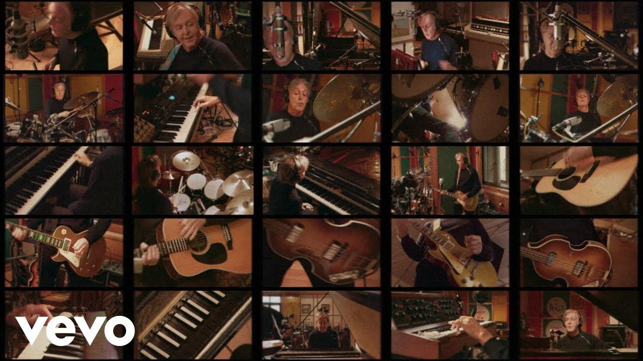 Paul McCartneyが新曲「Find My Way」のミュージック・ビデオを公開