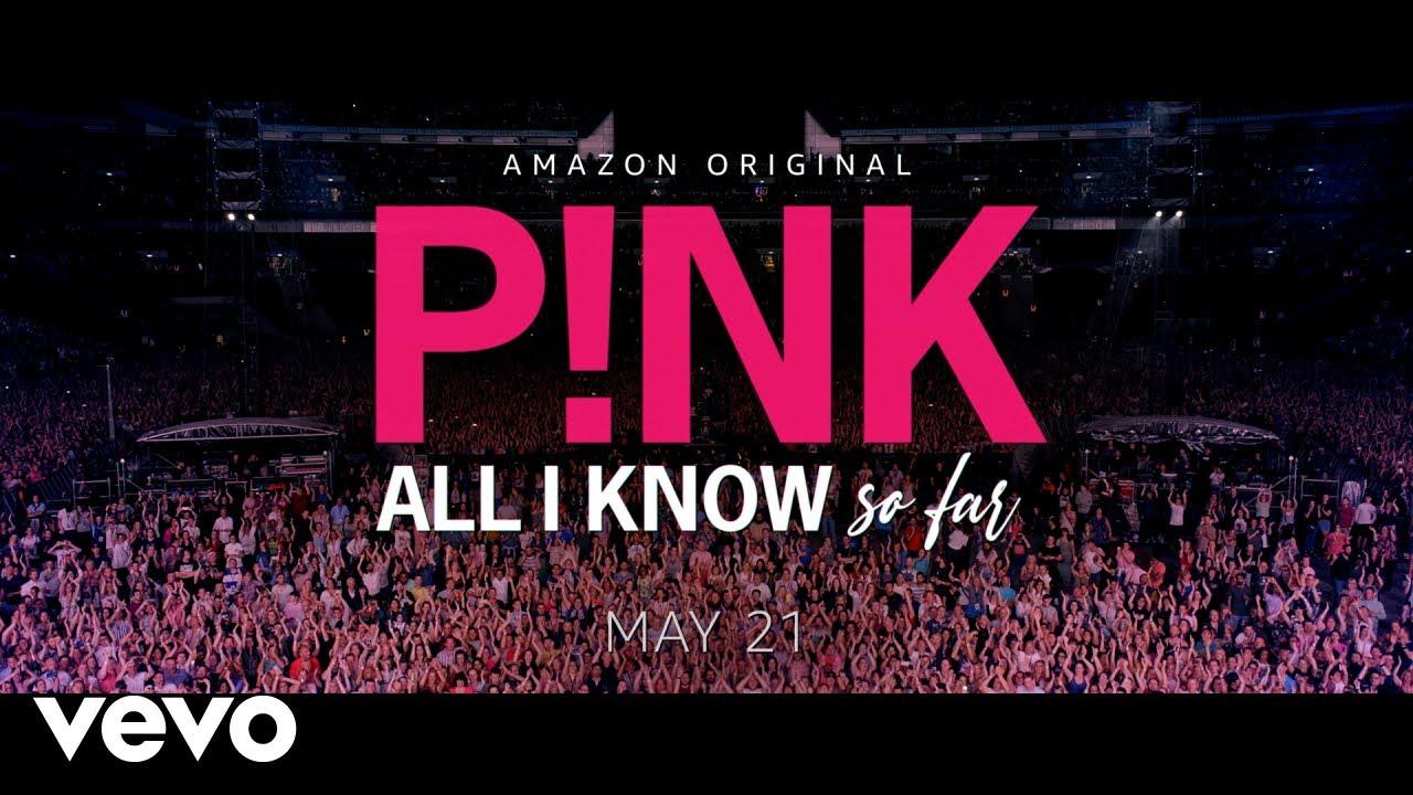 P!nkがAmazonプライムドキュメンタリー映画「All I Know So Far」の予告動画を公開