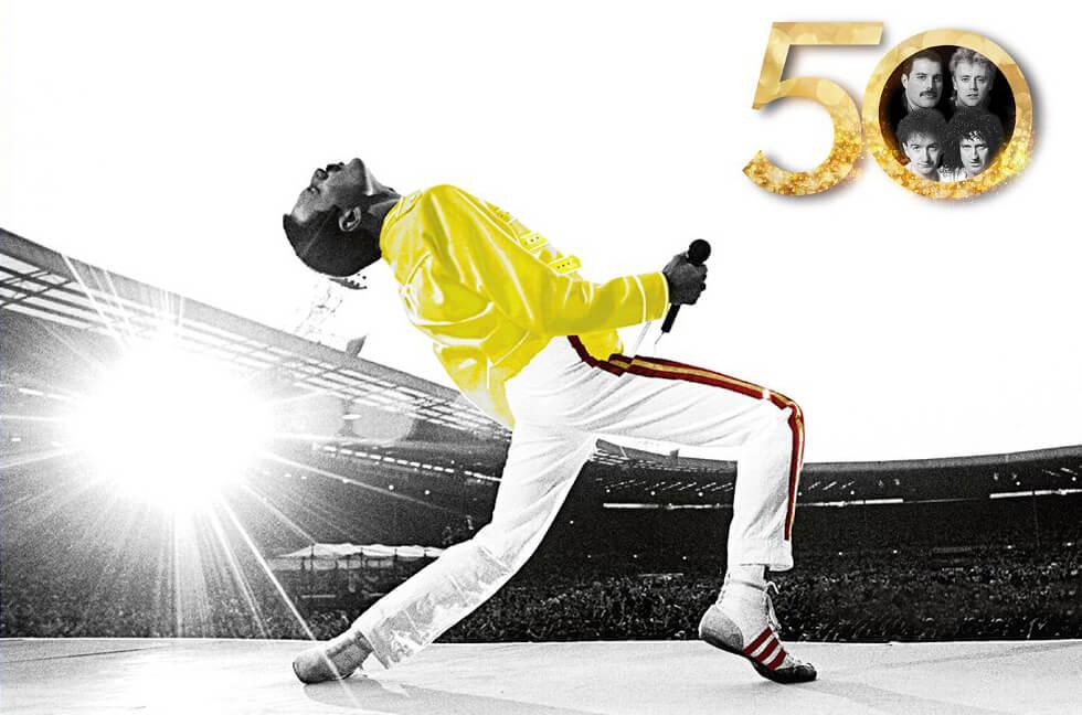Queen結成50周年を記念した『QUEEN 50周年展 - DON'T STOP ME NOW - 』渋谷の西武渋谷店モヴィーダ館にて開催決定