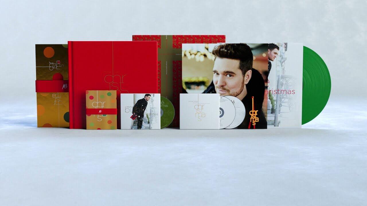 Michael Bubléのクリスマス名盤に新曲を含む計7曲を追加収録した10周年記念盤が発売決定!