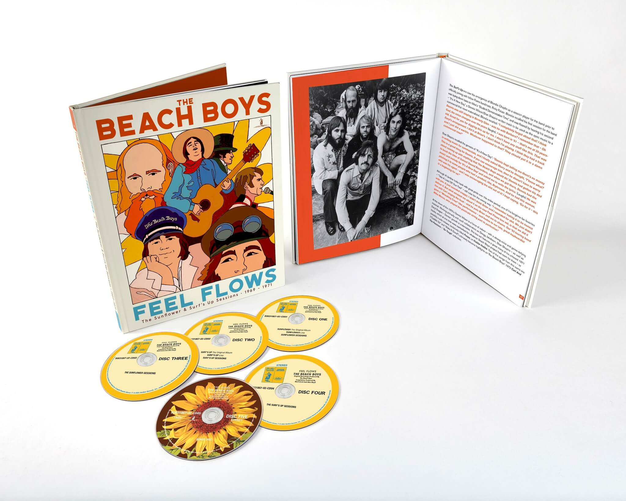 The Beach Boys / Feel Flows: The Sunflower & Surf's Up Sessions 1969-1971