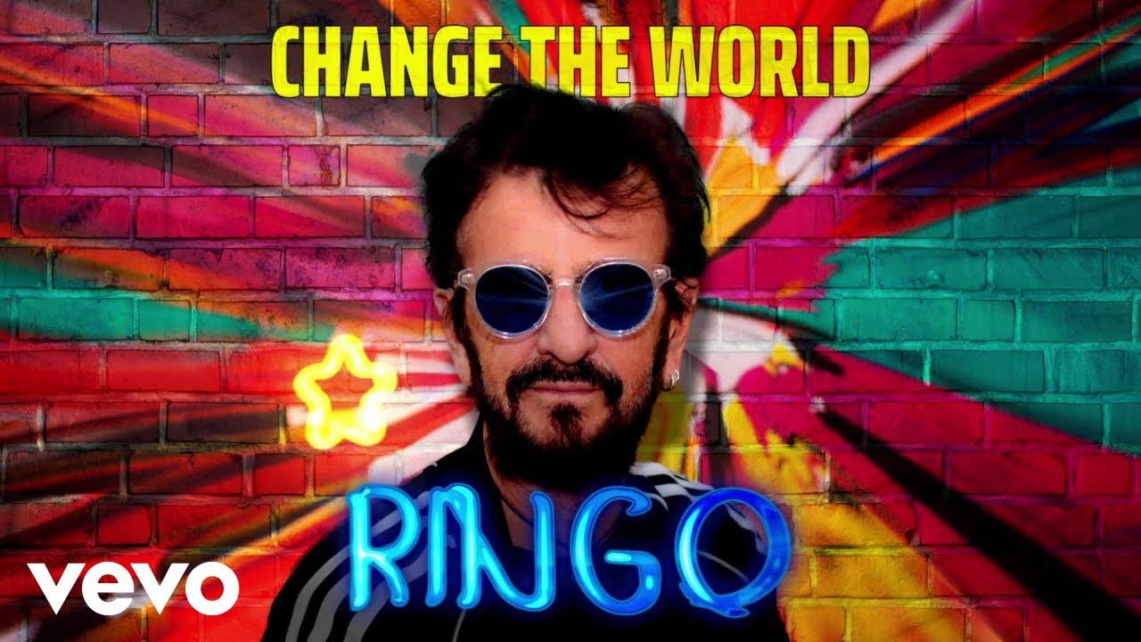 Ringo Starrが4曲入りアルバム「Change the World(チェンジ・ザ・ワールド)」を9月にリリース