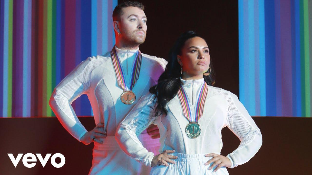 Sam SmithとDemi Lovatoによる豪華コラボの新曲「I'm Ready」のミュージック・ビデオが公開