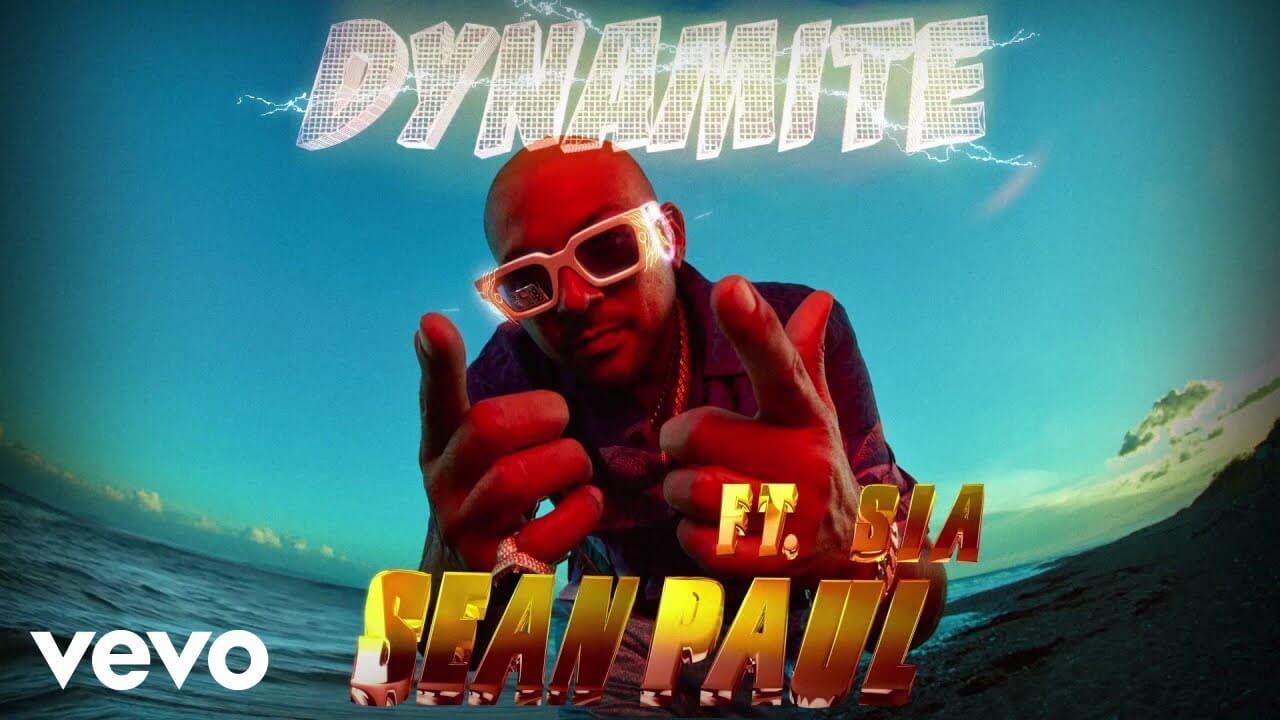 ダンスホール・レゲエ界の帝王Sean PaulがSiaと5年ぶりのコラボが実現した新曲「Dynamite」のヴィジュアライザー・ビデオを公開
