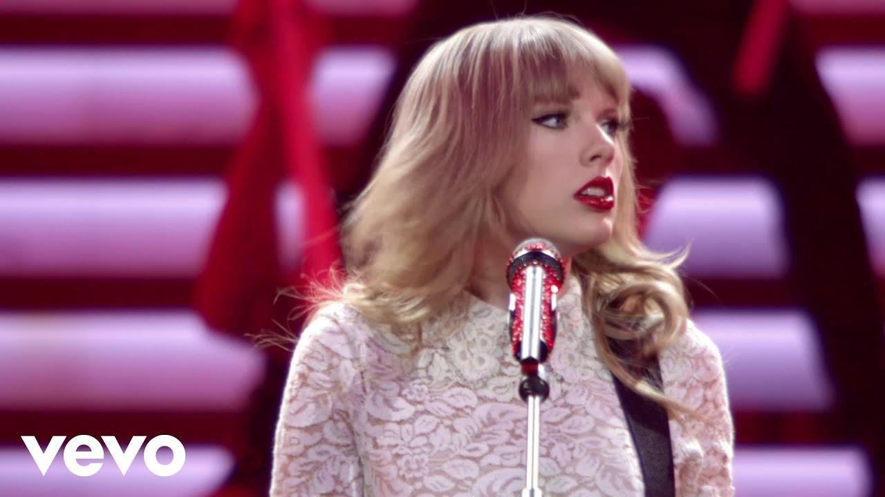 Taylor Swift「Red」の洋楽歌詞カタカナ・YouTube動画・解説まとめ