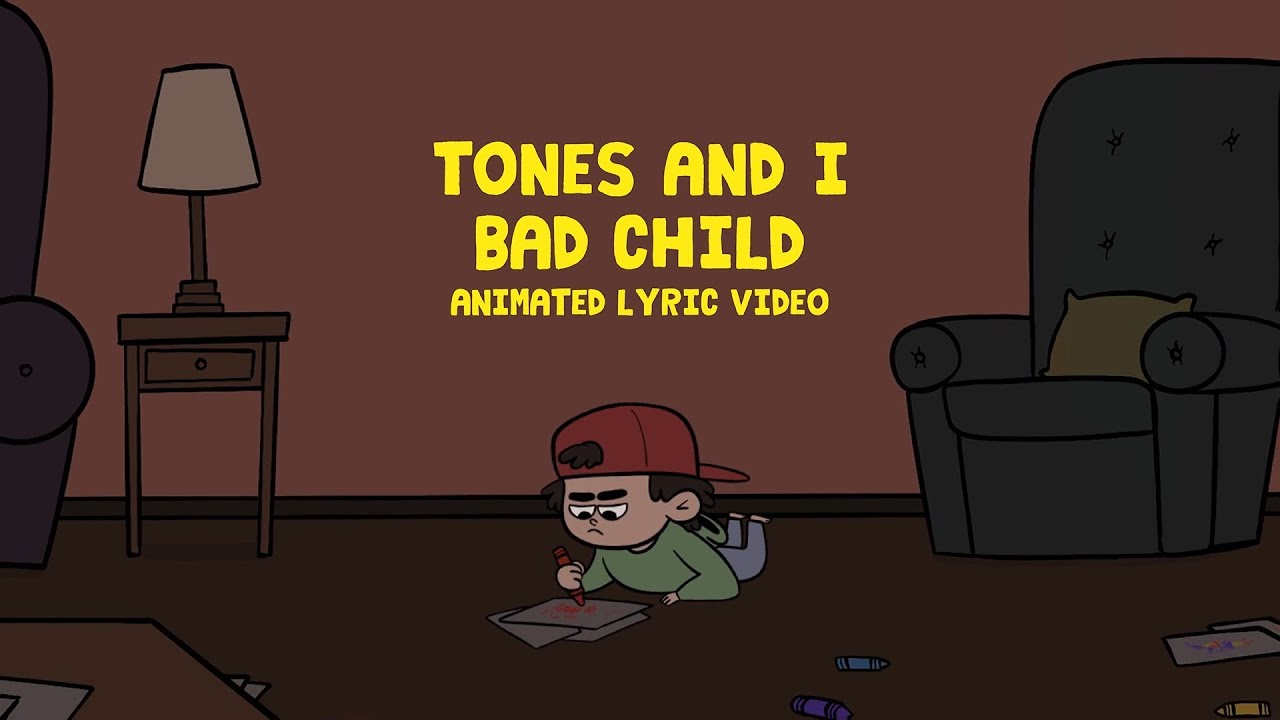 Tones and Iが新曲「BAD CHILD」「CAN'T BE HAPPY ALL THE TIME」のリリック・ビデオを公開