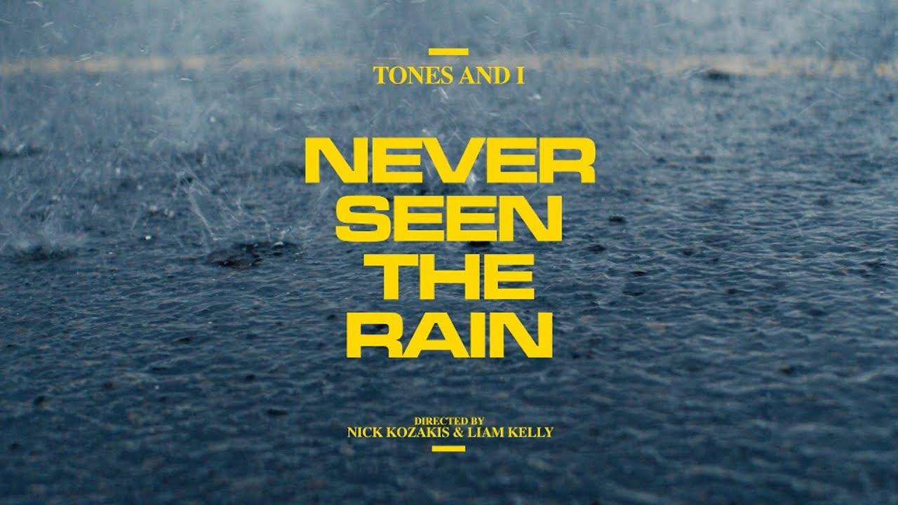 Tones and I「Never Seen the Rain」の洋楽歌詞・YouTube動画・解説まとめ