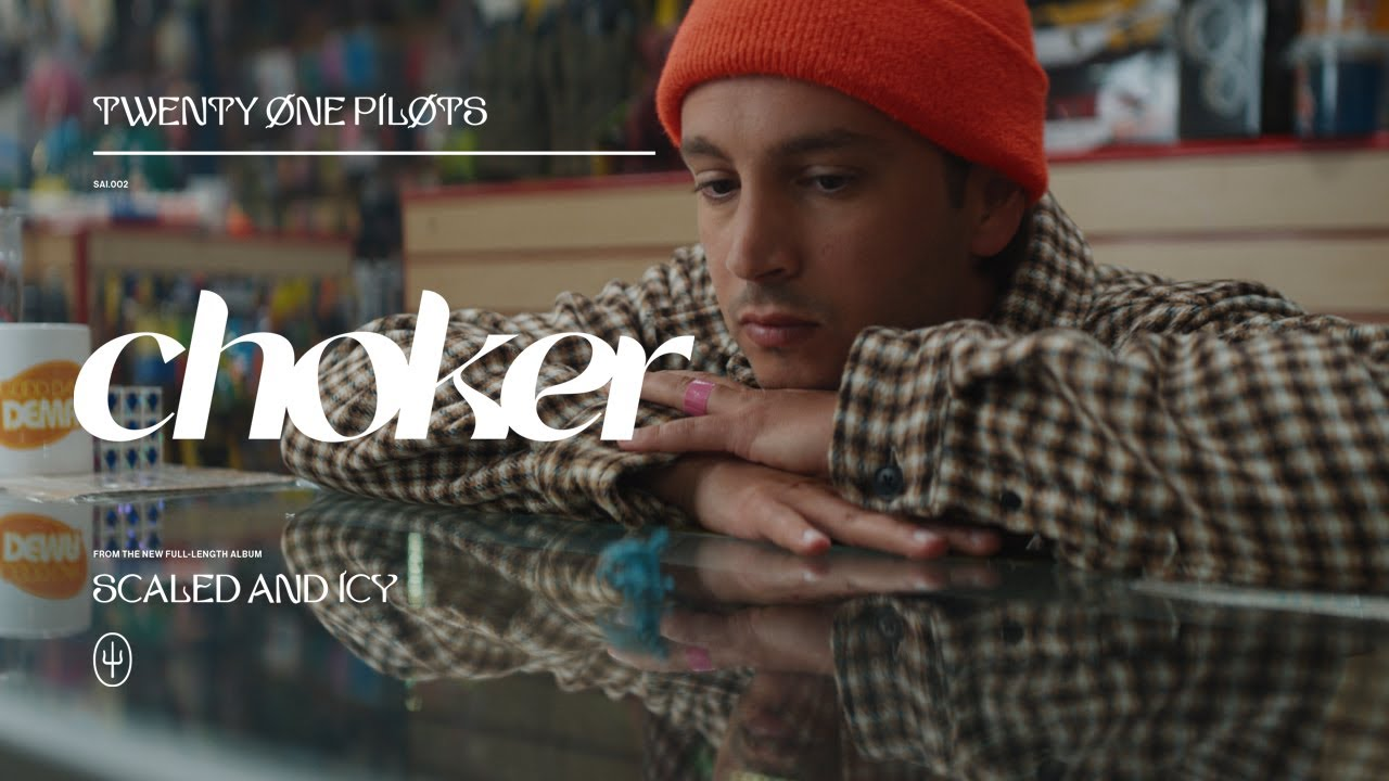 Twenty One Pilotsが新曲「Choker」のミュージック・ビデオを公開