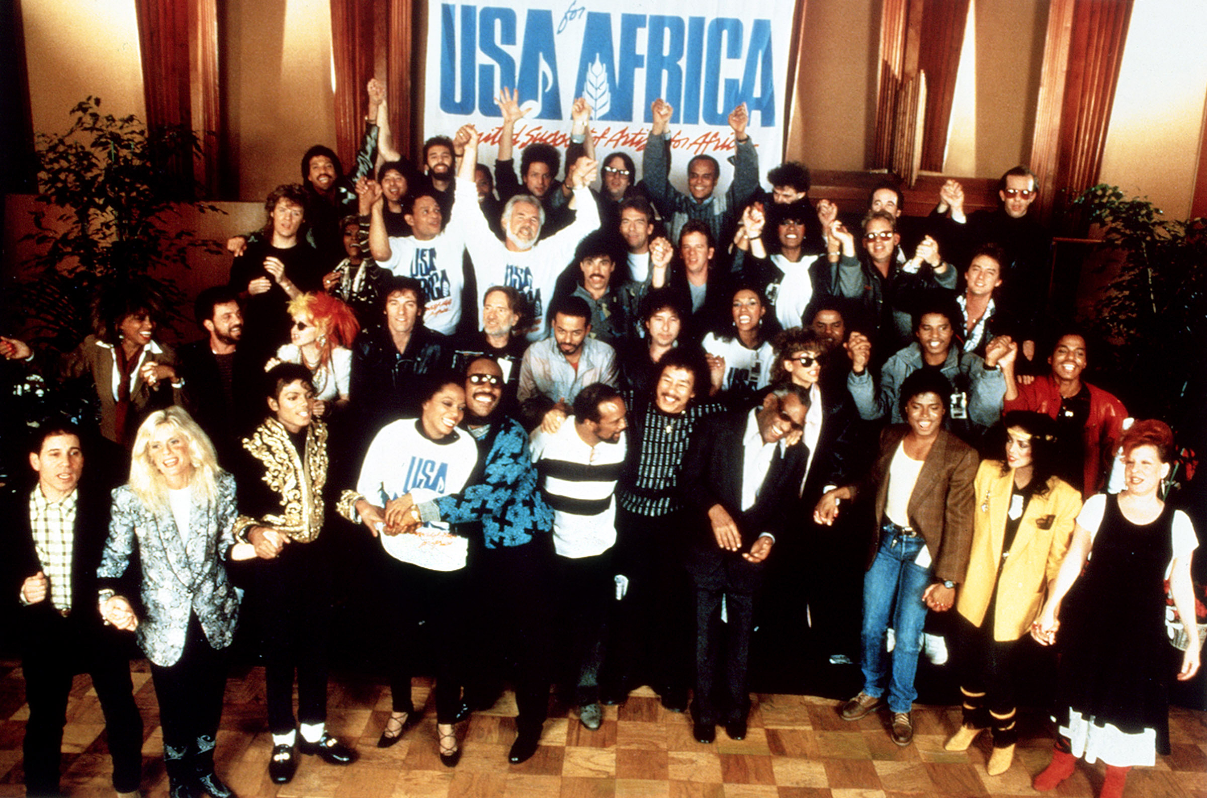 USA for Africaの誕生から「We Are the World」のヒットまで