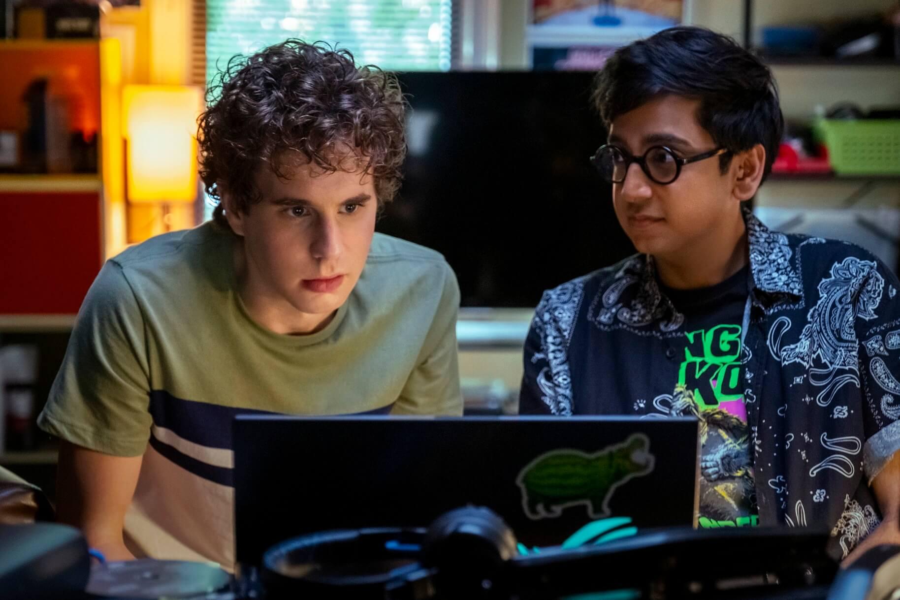 エヴァンと同級生ジャレッド