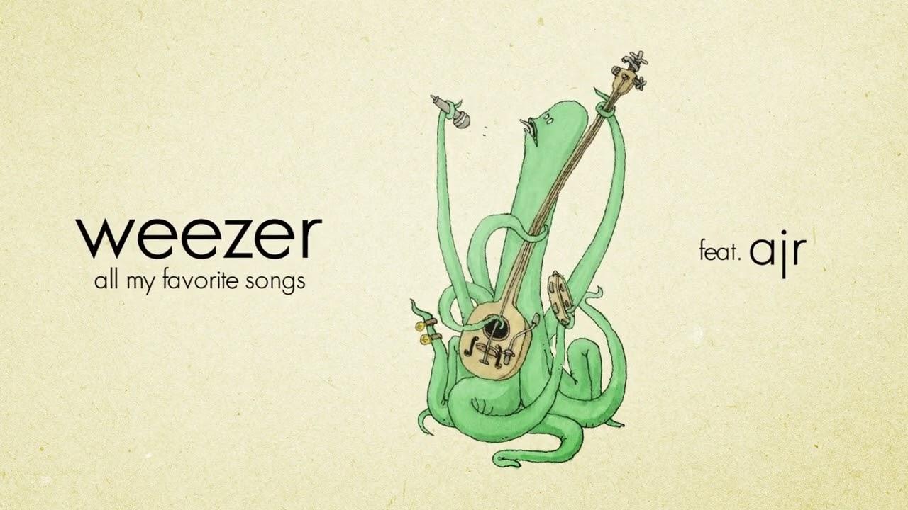 Weezerが「All My Favorite Songs」にAJRを迎えた新バージョンの音源を公開