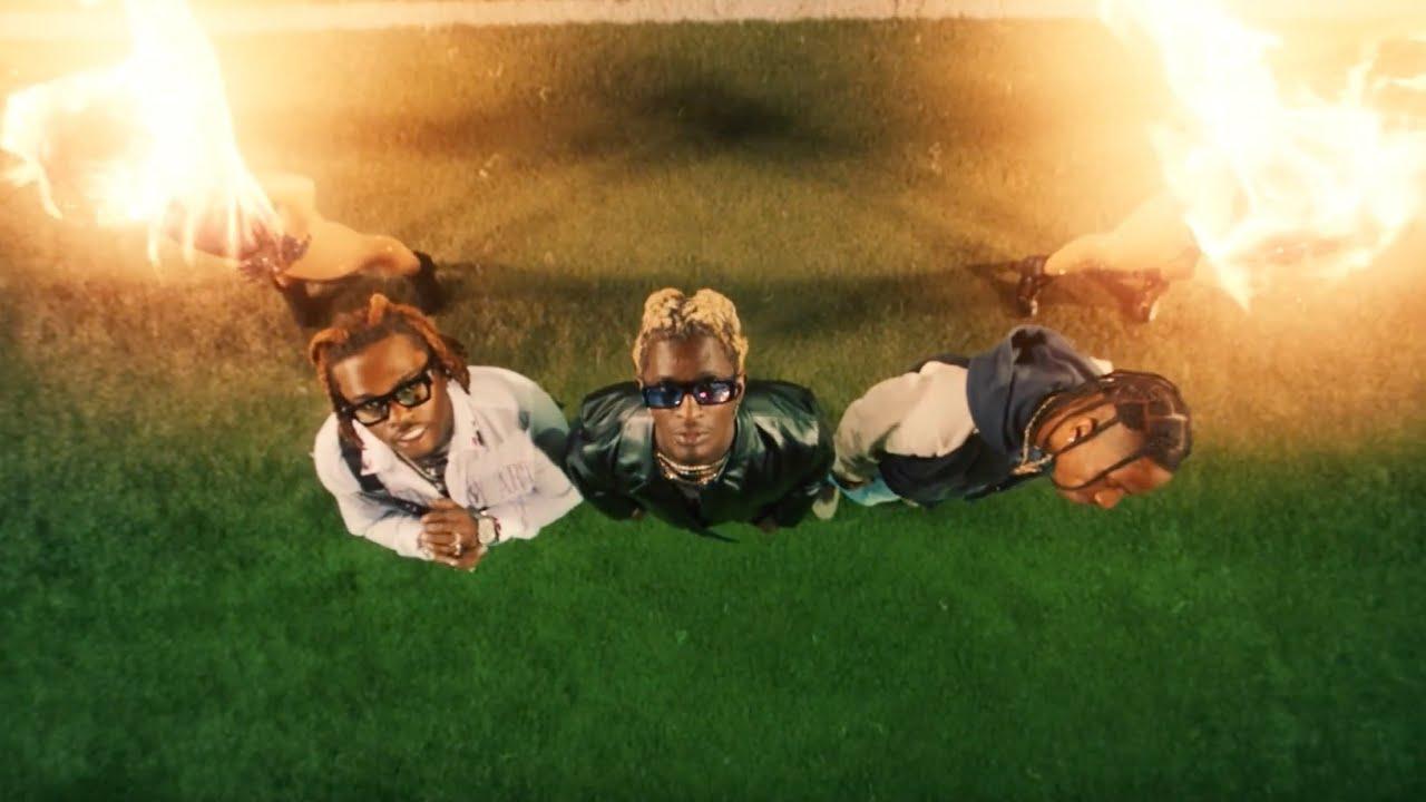 Young ThugがGunnaとTravis Scottを迎えた「Hot」のミュージック・ビデオを公開